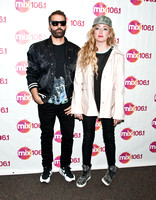 04/10/2015 - The Ting Tings Visit Mix 106