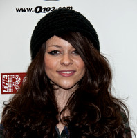 03/19/2012 - Cady Groves Visits Q102