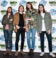 05/13/2016 - Cage The Elephant Visit Silk City Lounge