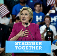 JULY 29, 2016: Hillary Clinton and Tim Kaine Campaign in Philadelphia