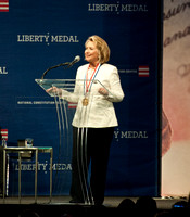 09/10/2013 - Hillary Rodham Clinton Receives the 2013 Liberty Medal
