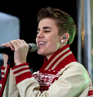 "11/23/2011 - Justin Bieber Performs on NBC's ""Today"" Show"