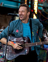 "10/21/2011 - Coldplay Perform on NBC's ""Today"" Show"