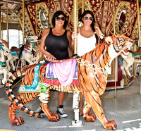 07/27/2014 - Mob Wives Visit Clementon Amusement Park