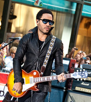 "09/02/2011 - Lenny Kravitz Performs on NBC's ""Today"" Show"