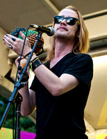 07/18/2014 - Macaulay Culkin Performs with The Pizza Underground Band
