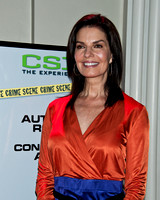 "10/02/2011 - Sela Ward Visits ""CSI: The Experience"" Exhibit"